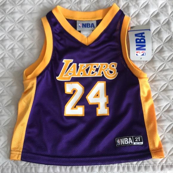 Lakers #24 Kobe Bryant NBA 2T Jersey